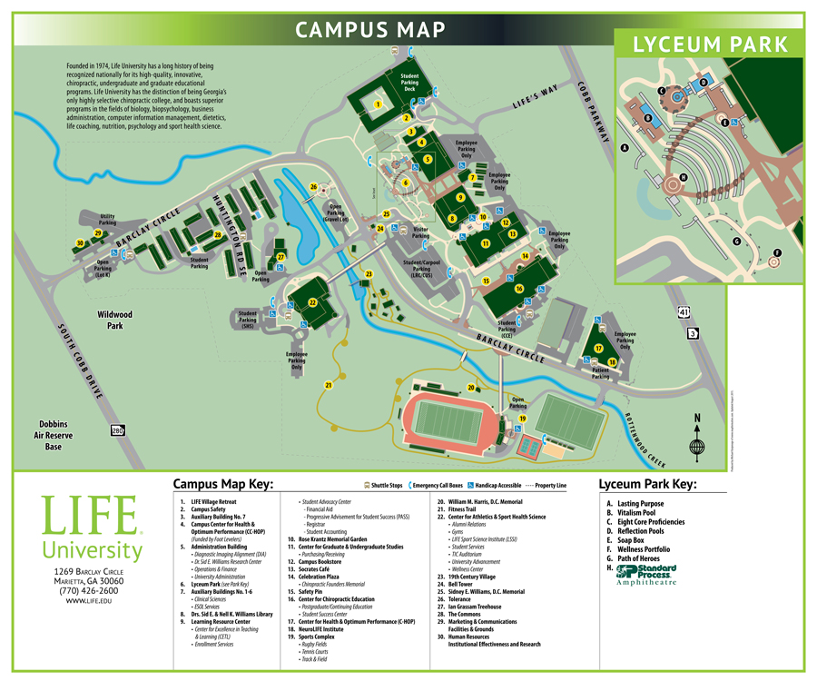 Ohio Map Campus University Northwestern