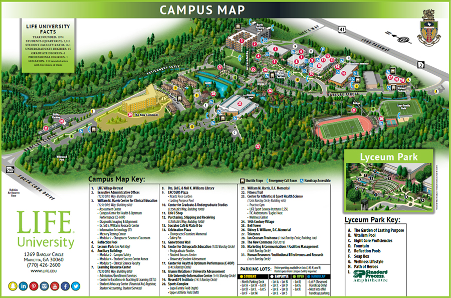 Buildings Map Mn Life University Science