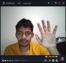 Save Webcam Video Feed to a File using OpenCV in Python