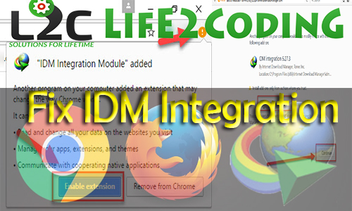 How to Fix Internet Download Manager Integration in Firefox and Chrome !
