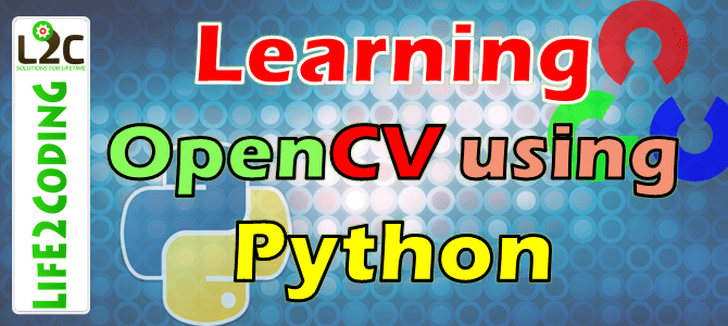 OpenCV Python Archives - Life2Coding