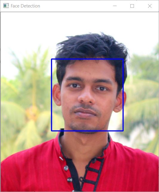 Capture Face Detection on Images using OpenCV Haar Cascades