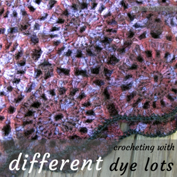 Combining yarn dye lots can lead to some unexpected color shifts in your project, but there are a few ways you can work with what you've got.