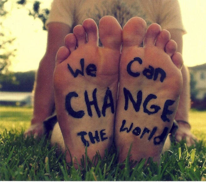 Want to Change the World