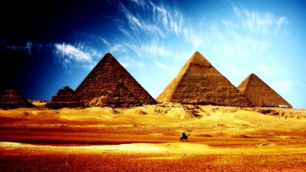 history questions - pyramids