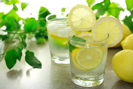 Lemon Water - snack rituals