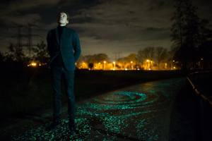 Daan-Roosegaarde-Starry Night Bike Path
