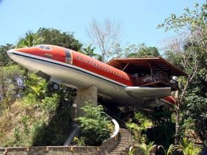 01-Plane Hotel, Costa Rica
