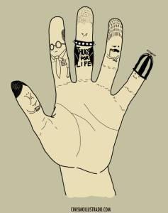 5 Finger Personalities