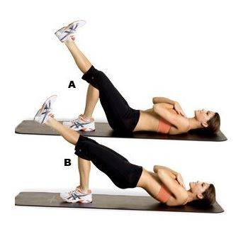 2-One leg gluteus bridge