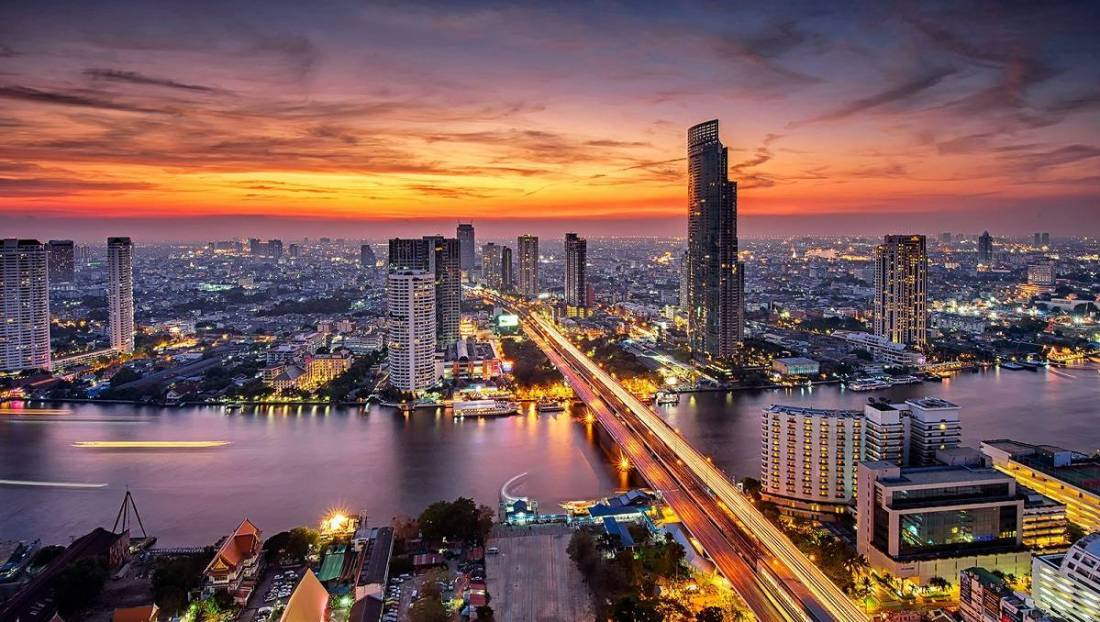 Magnificent Sunsets Bangkok, Thailand