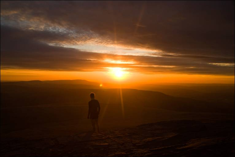 Magnificent Sunsets Brecon Beacons, Wales