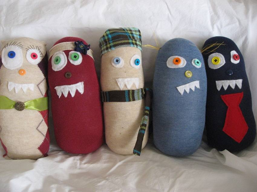 11. Sock monsters