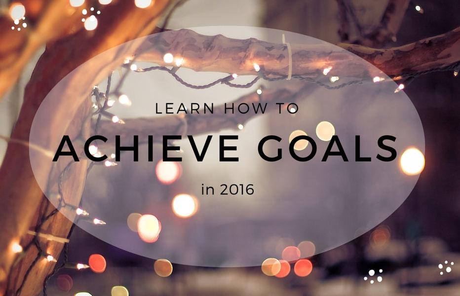 new year achieve goals