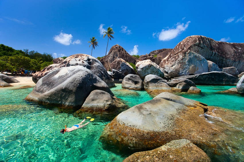10. Virgin Gorda - British Virgin Islands