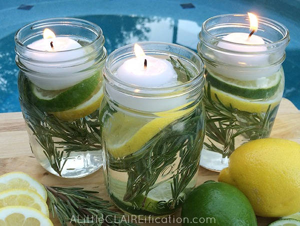 DIY Bug mason jar repellent