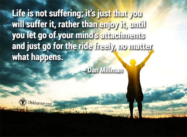 life is not suffering