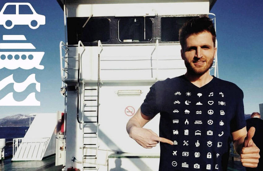 Clever Traveling T-Shirt Helps You Communicate