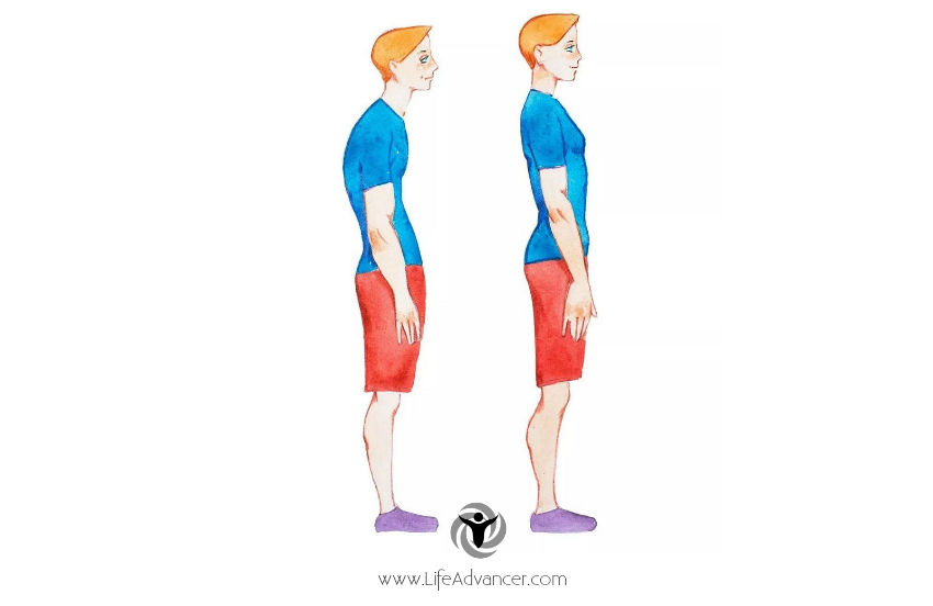How to prevent a hunchback - wrong posture