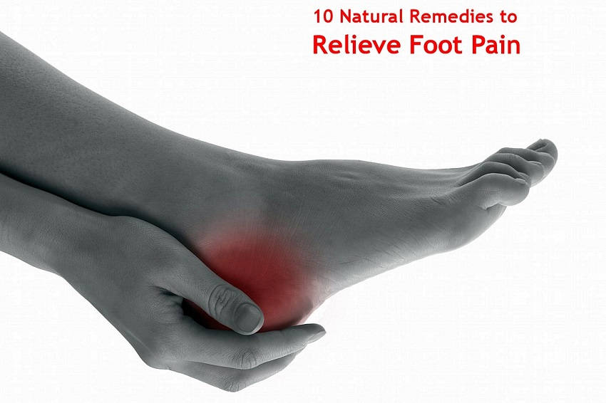 Relieve foot pain fast and easily
