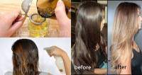 How to Lighten Your Hair Color with 100% Natural Ingredients