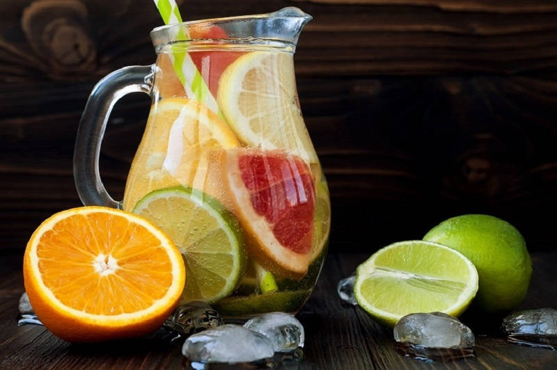 Make Flavored Water at Home