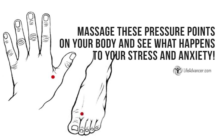 Relieve Stress by Massaging These Pressure Points on Your Body