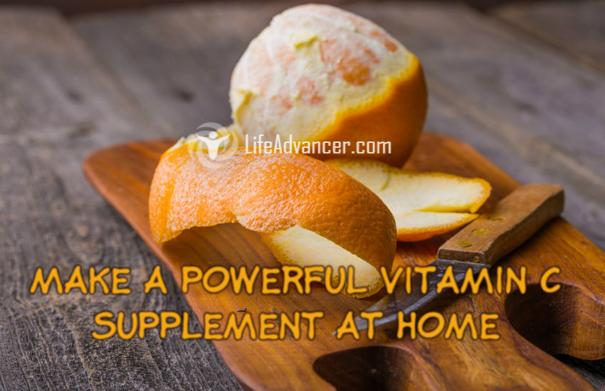 Use Orange Peels to Make a Powerful Vitamin C Supplement