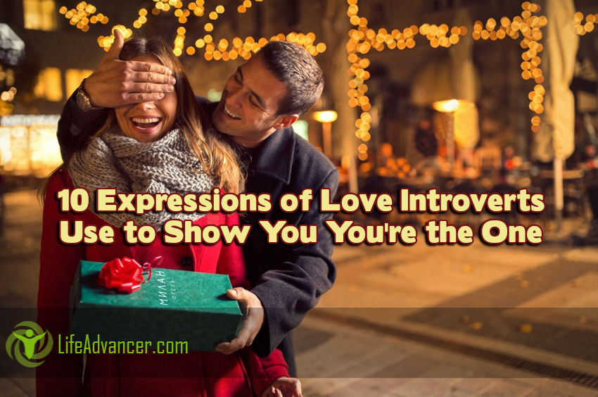 Expressions of Love Introverts Use