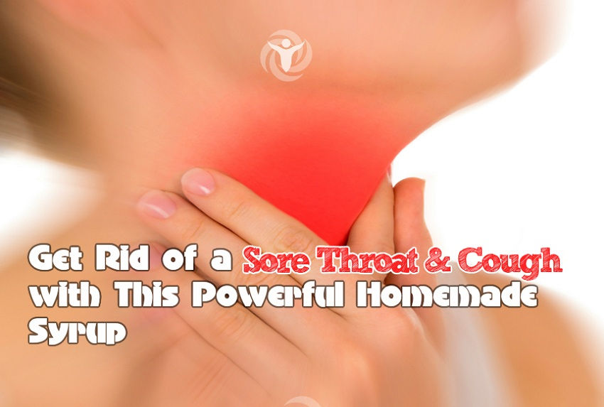 Get Rid Sore Throat and Cough Homemade Syrup