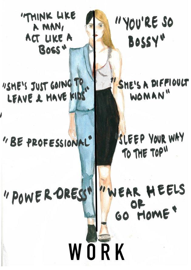 Double Standards Women Face Modern Society