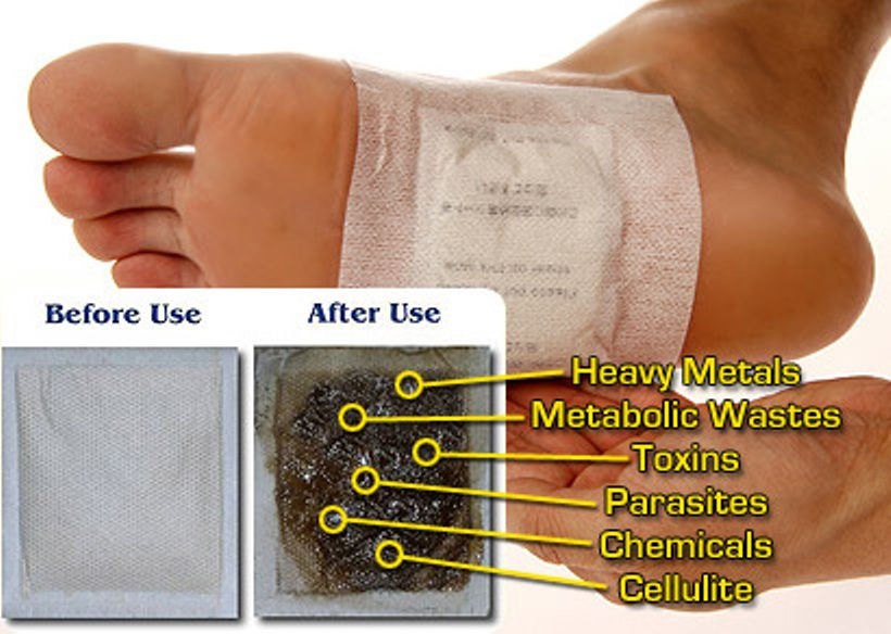 how to make homemade detox foot pads to remove toxins from your body. Black Bedroom Furniture Sets. Home Design Ideas