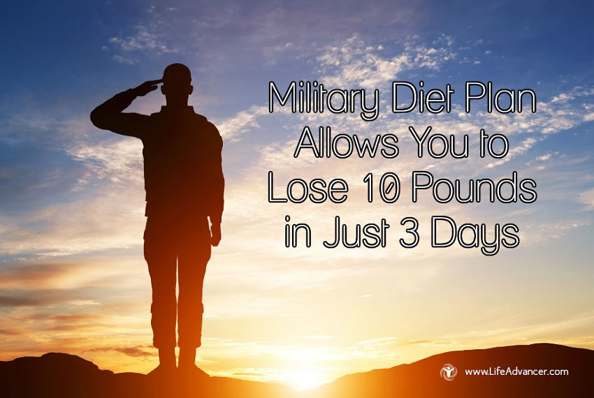 Military Diet Plan Lose Pounds