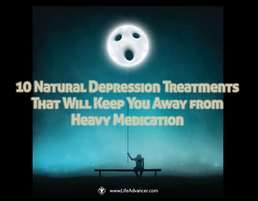 10 Natural Depression Treatments That Will Keep You Away from Heavy Medication