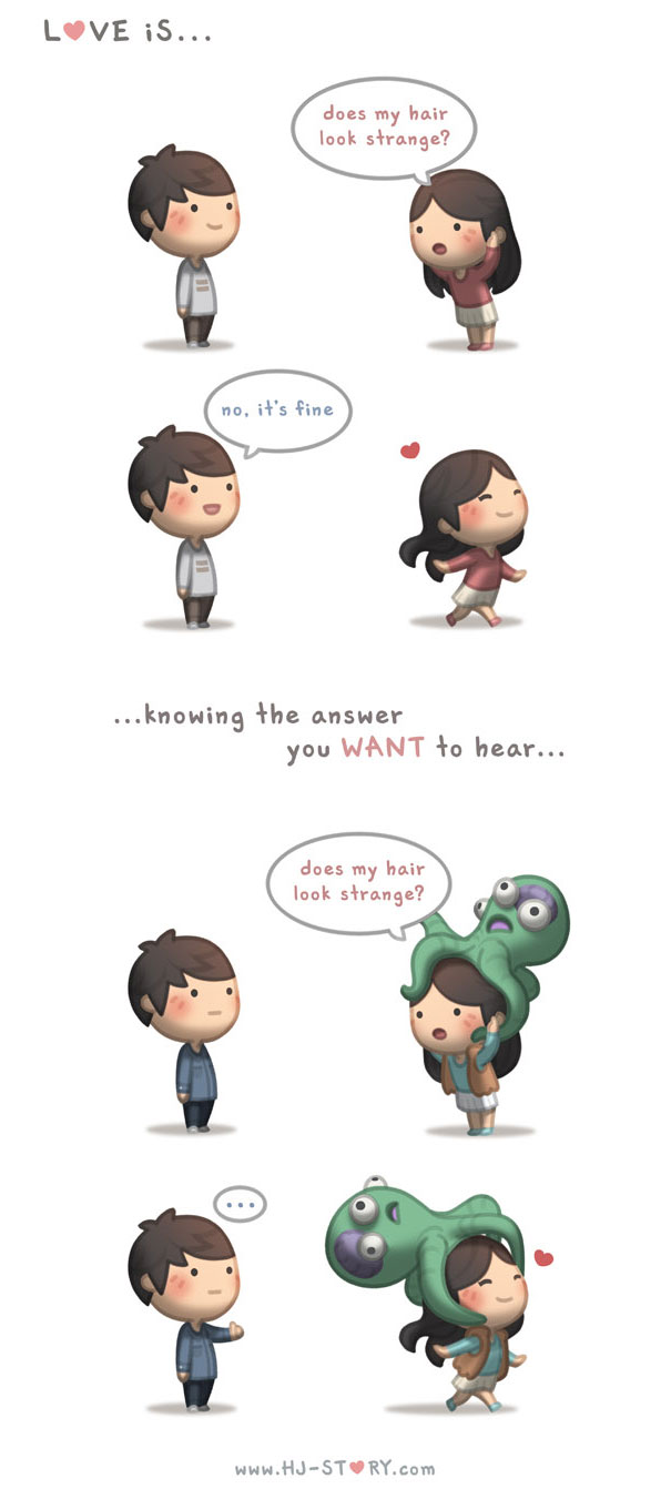 what is love illustrations