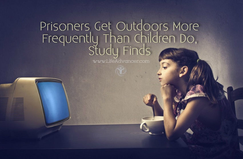 Prisoners Get Outdoors More Frequently Than Children Do, Study Finds