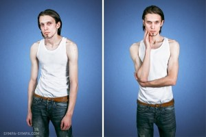 9-Insecure Vs Confident: Mind blowing photo project