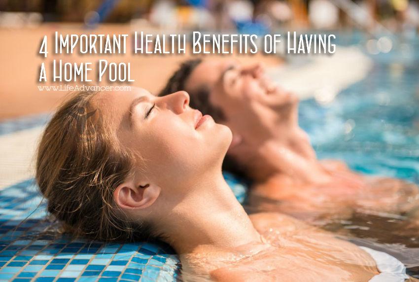 Health Benefits Home Pool
