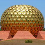 Cities in India: Matri mandir(Auroville), Photo by LoggaWiggler