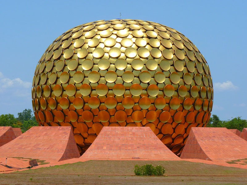 Matri mandir(Auroville), Photo by LoggaWiggler