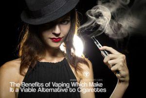 Benefits of Vaping