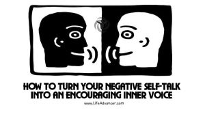 Negative Self-Talk Encouraging Inner Voice