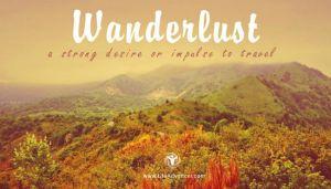 Suffer from Wanderlust
