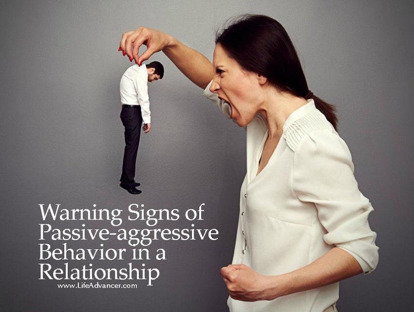 Signs of passive aggressive behaviour