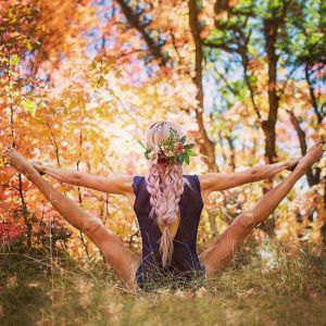 Yoga Positions by Heidi Williams