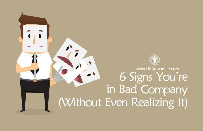 bad company signs