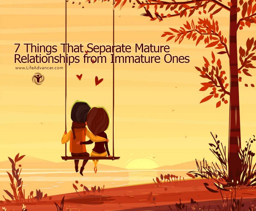 Mature Relationships
