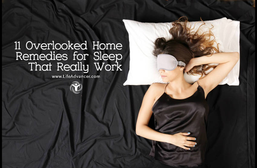 home remedies for sleep that work