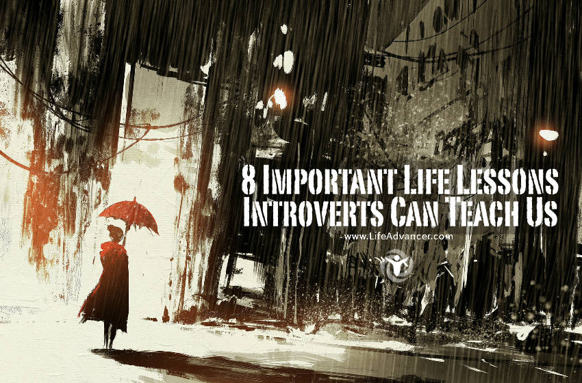 Important Life Lessons Introverts