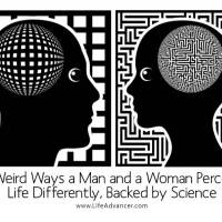 8 Weird Ways a Man and a Woman Perceive Life Differently, Backed by Science